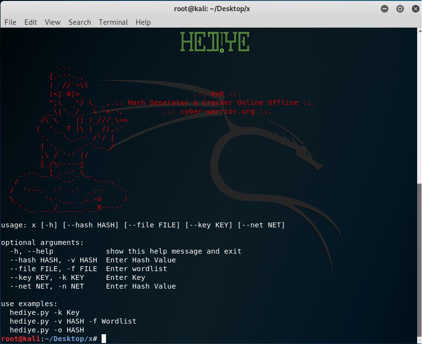 Hediye - Hash Generator & Cracker Online Offline