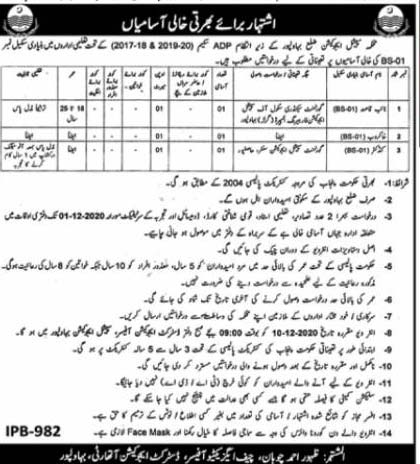 Special Education Department Govt Of Punjab Jobs