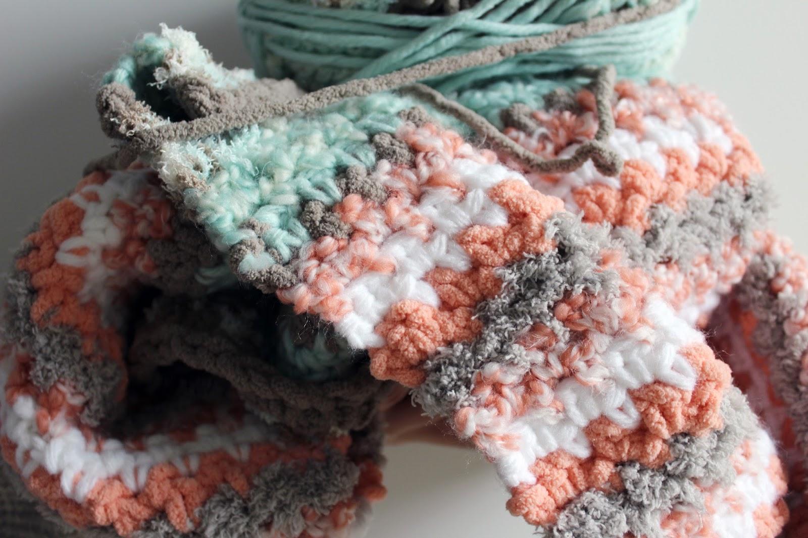 Rainbow Sherbet Baby Bundler Blanket