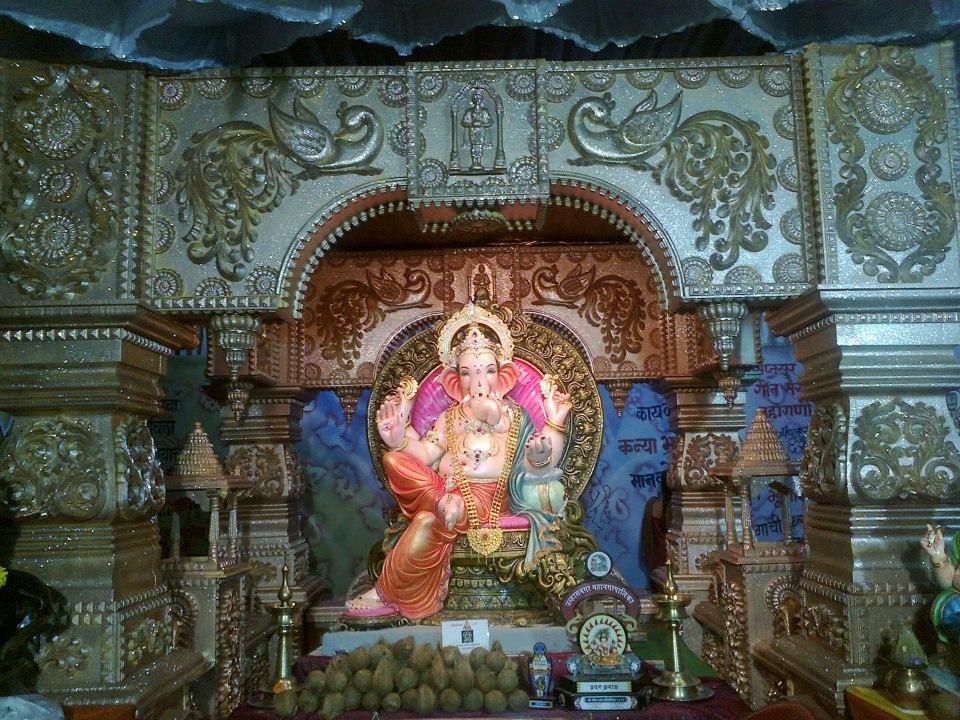 Mangalmurti Arts: Ganapati Decoration, Ganapati Makar ...