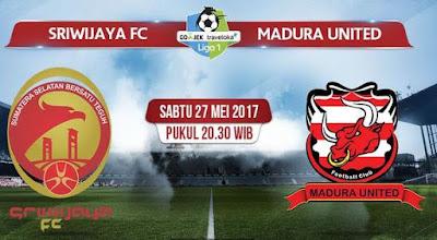 Sriwijaya FC vs Madura United Pukul 20.30 WIB (Live TV One)