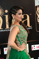 Manjusha in Beautiful Sleeveless Green Anarkali dress at IIFA Utsavam Awards 61.JPG