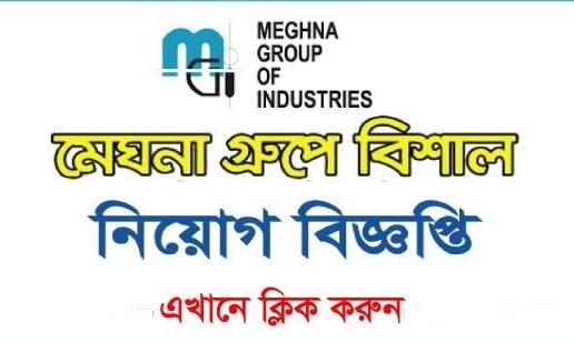 মেঘনা গ্রুপে নিয়োগ বিজ্ঞপ্তি ২০২১ - meghna group job circular 2021 - বেসরকারি কোম্পানির চাকরির খবর ২০২১