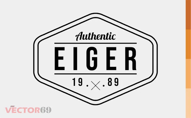 Eiger 1989 Logo - Download Vector File AI (Adobe Illustrator)