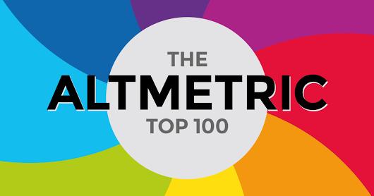 Top 100 de Altmetric