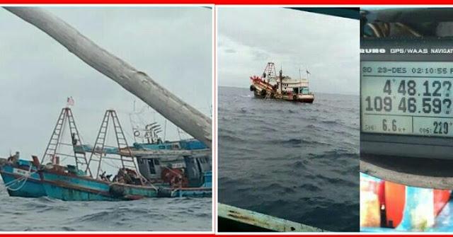 Info Nelayan: Susi Tak Lagi Jadi Menteri, Kapal Asing Vietnam Berpesta Pora Mencuri Ikan di Natuna, Pukat Gandeng Ditebar