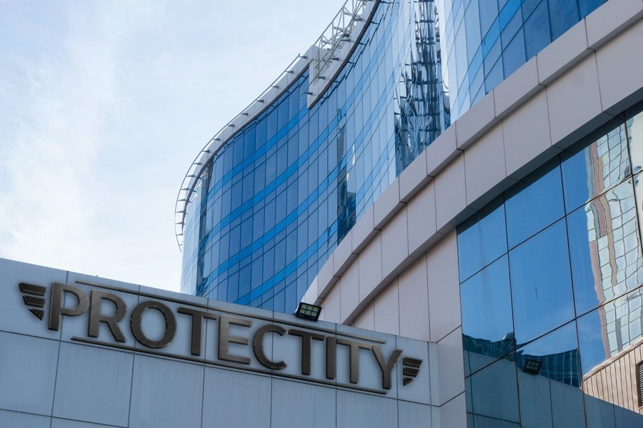 Protectity Mock Building