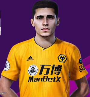 PES 2020 Faces Daniel Podence by Rachmad ABs