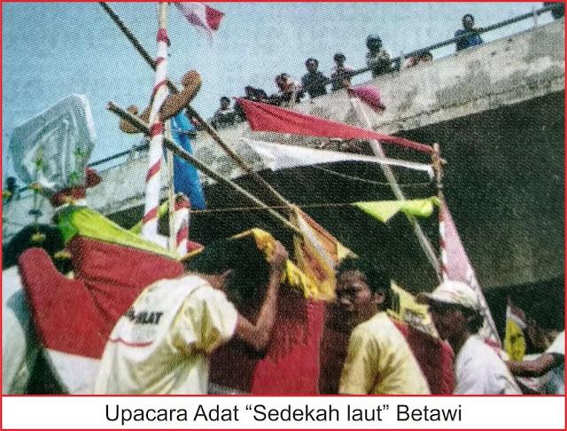 upacara sedekah laut adat betawi