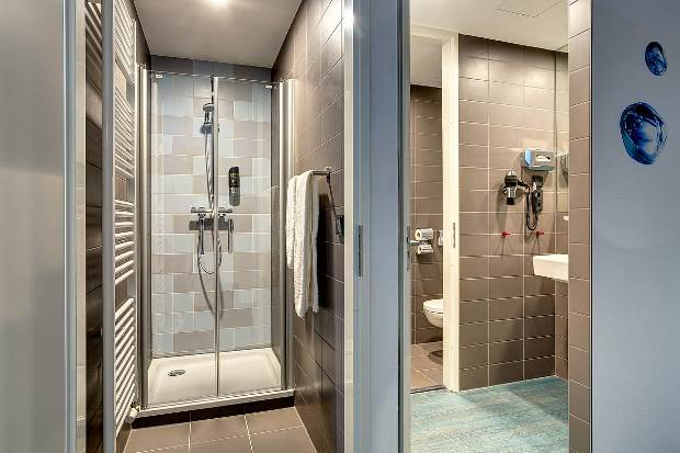 Cuarto de baño de hotel