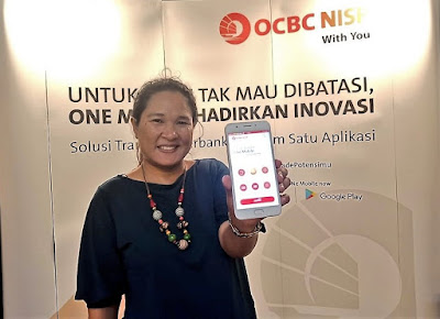 Aplikasi ONe Mobile OCBC NISP