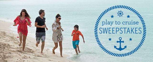 Princess Cruises wants you to enter monthly for your chance to win a 7-day Caribbean cruise for two worth more than $2300 or PlayMonster Game Packages!