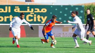 ملخص مباراة الباطن والفيحاء اليوم الخميس بتاريخ 28-03-2019 الدوري السعودي