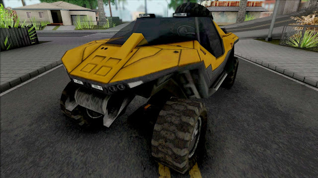 GTA San Andreas Civilian Warthog Car