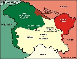 Jammu & Kashmir Complete Map