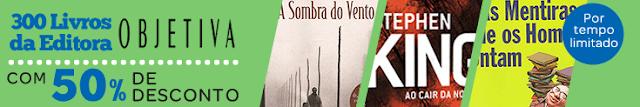 Guia de Compras: 300 livros da Editora Objetiva com 50% 6