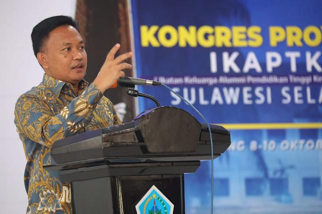 Bupati Bantaeng Dorong IKAPTK Buat Inovasi Berpemerintahan di Masa Pandemi