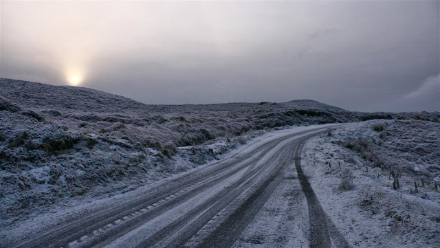 Snow in Connemara© Annie Japaud 2013, Connemara, snow, photography, nature, landscape, Ireland