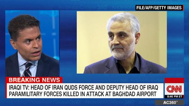 فريد زكريا يوضح أهمية قاسم سليماني بعد مقتله بضربة أمريكية بالعراق
