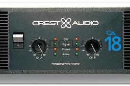 Spesifikasi Power CA 18 Crest Audio Lengkap