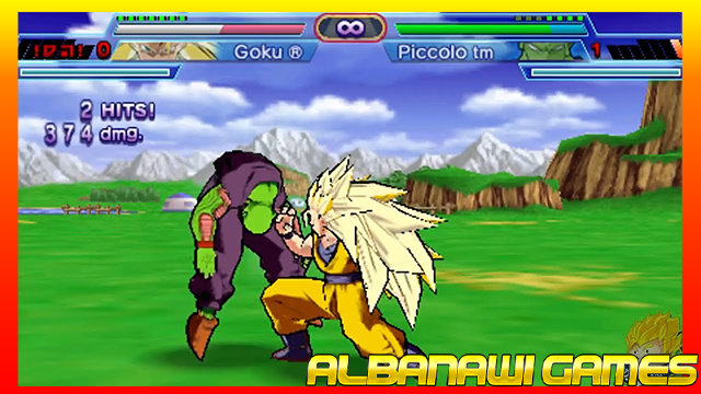 تحميل لعبة دراغون بول شين بودوكاي Dragon Ball Z Shin Budokai 2 لاجهزة psp ومحاكي ppssppمن الميديا فاير
