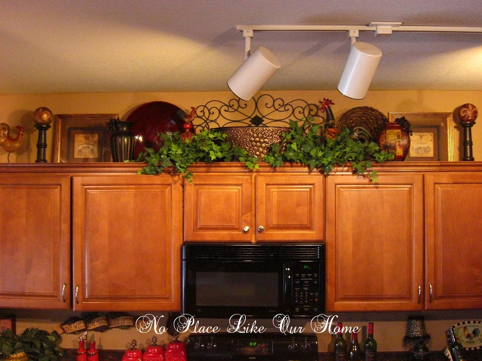 No Place Like Our Home New Kitchen Vignette S