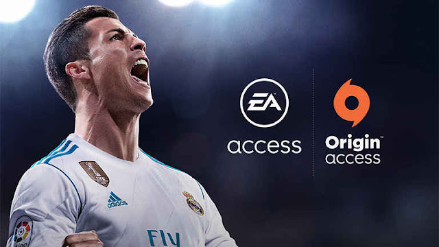 Origin Access Fifa 18
