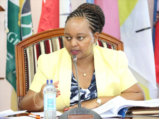 Anne Waiguru in trouble PHOTOs