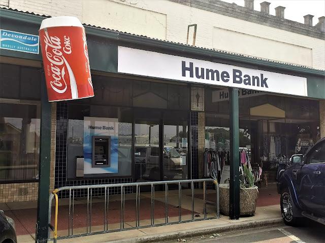 NSW BIG Things | BG Coke Can in Culcairn