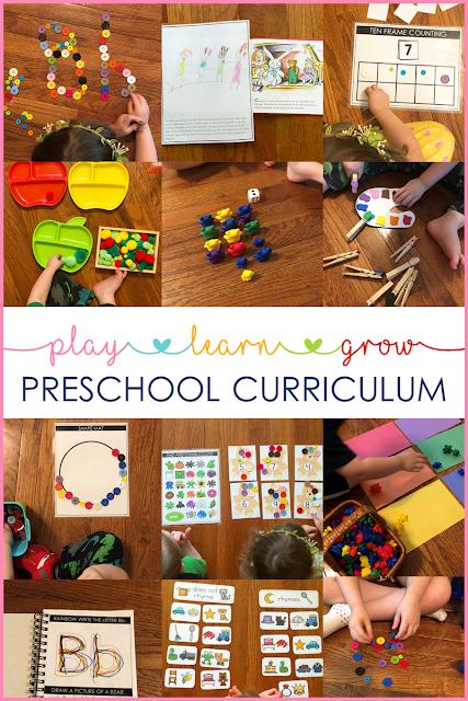 Hands on Tot school and preschool learning activities