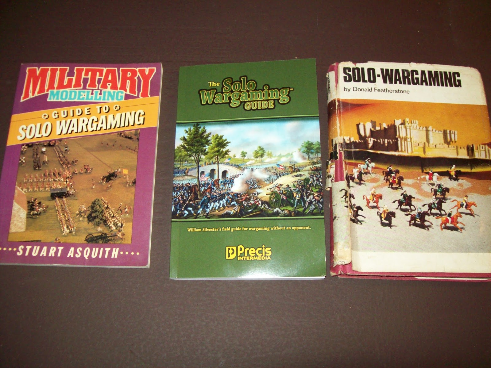 Doug's Soldiers: Books on Solo Wargaming