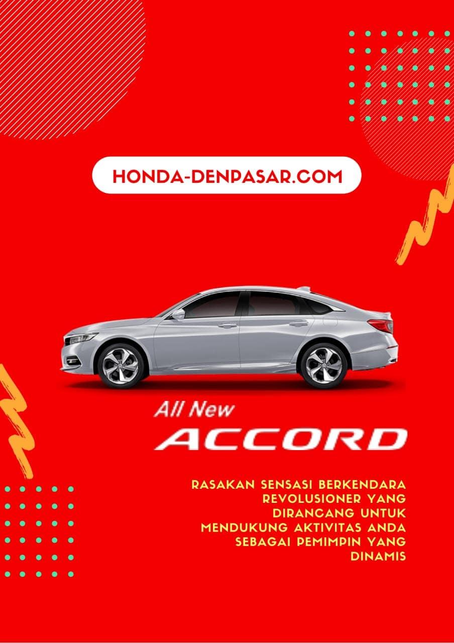 Honda Accord, Harga Honda Accord Bali, Promo Honda Accord Bali