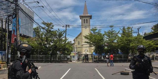 Minggu Palma Dilukai Bom Bunuh Diri, Ormas Katolik: Kita Bawa Peristiwa Ini Dalam Doa