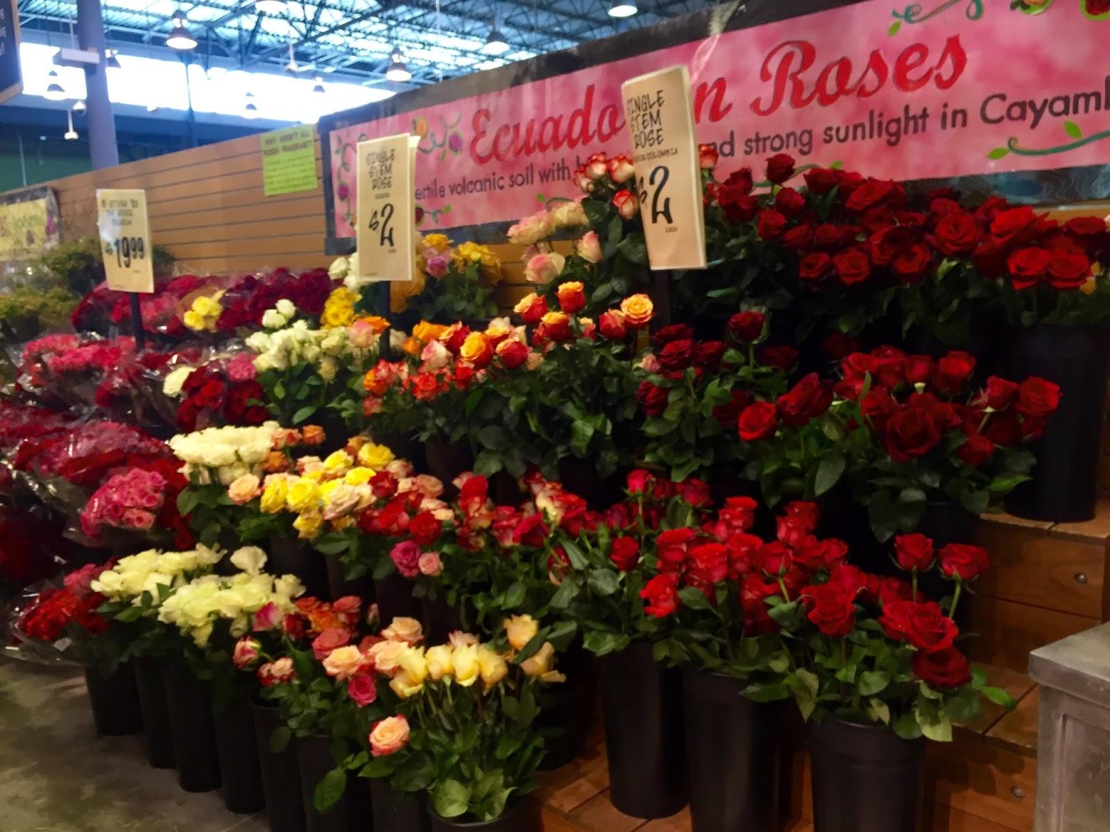 Roses at Central Market