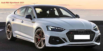 Specifications and prices of the 2021 Audi RS5 Sportback