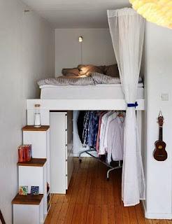 warna cat kamar tidur sempit putih