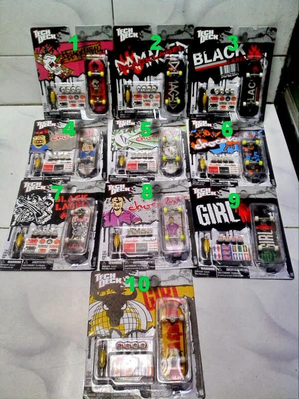 Jual Tech Deck Singel Pack  Pro Street Hits Bekasi Murah
