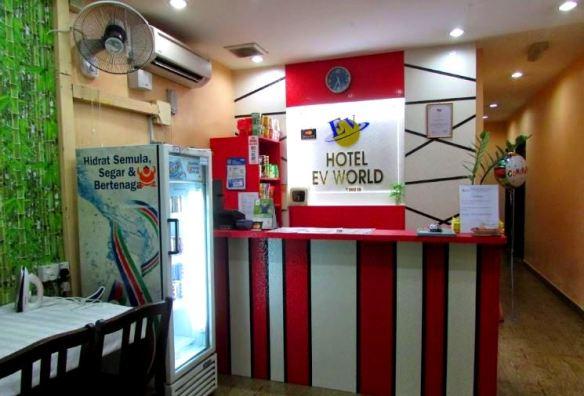 ev world hotel shah alam murah