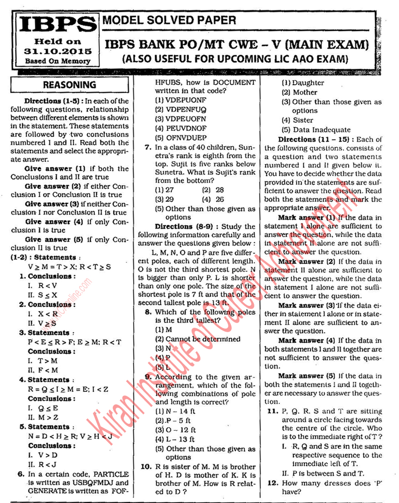 descriptive essays for bank exams The candidates selected for the sbi mains exam will have to appear for the objective and descriptive test the candidate has to clear both the sections in order to qualify for the interview.