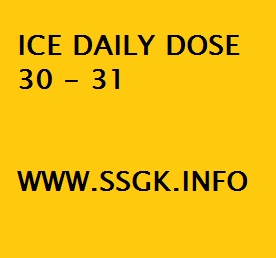 ICE DAILY DOSE 30 - 31