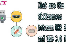 What are the differences between USB 2.0 and USB 3.0?