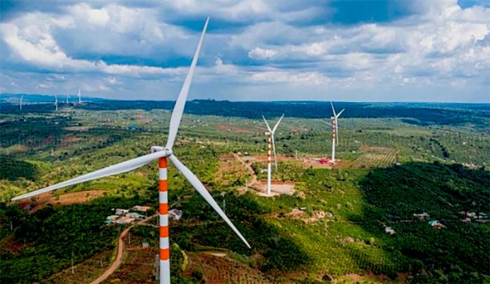 Hơn 274 MW điện gió đã được công nhận vận hành thương mại