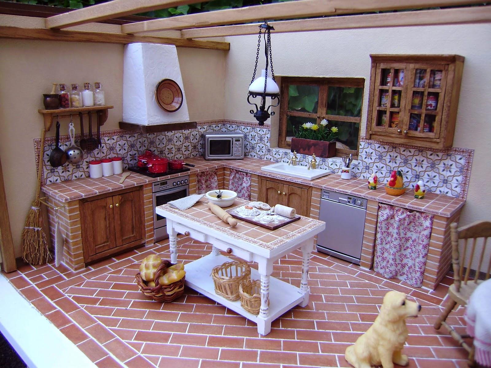 Construcciones y reformas carmelo hernandez fotos for Cocinas coloniales modernas