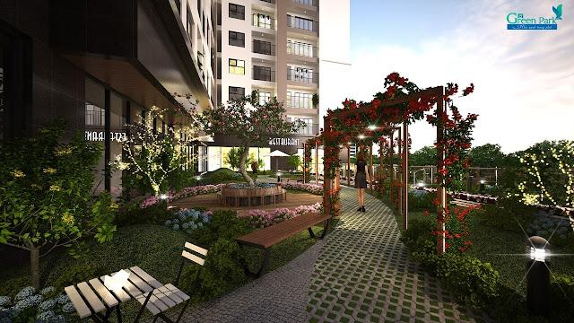 Không gian sống tại Phương Đông Green Park