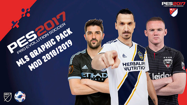 PES 2017 MLS Graphic Pack Mod 2018/2019 - Micano4u | PES Patch