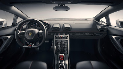 Lamborghini Huracan LP610-4 Spyder interior photo