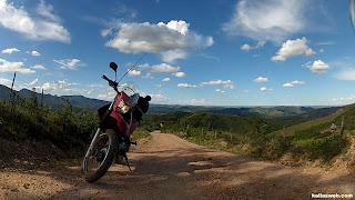 Belíssima vista no Caminho dos Diamantes - Estrada Real.