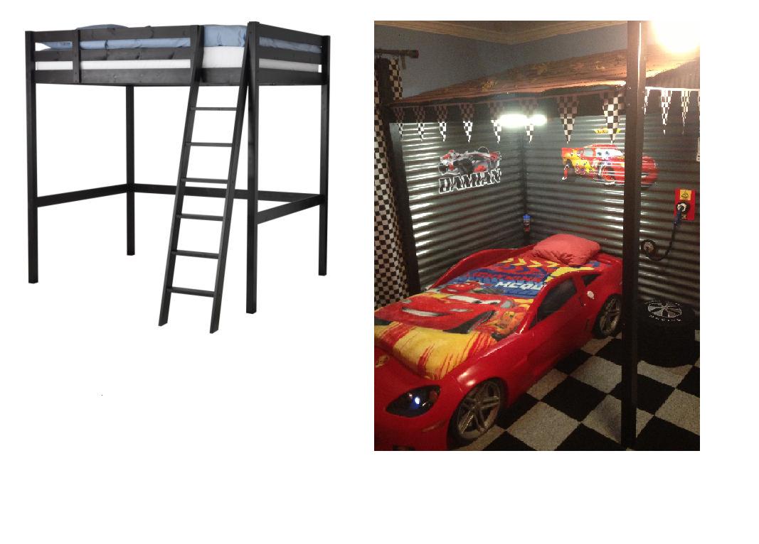 Cool Carport Loft Bed Ikea Hackers Ikea Hackers