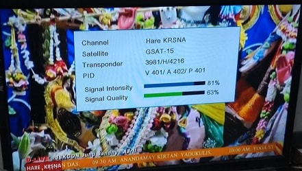 Hare Krsna devotional TV channel by ISKON, Know Frequency