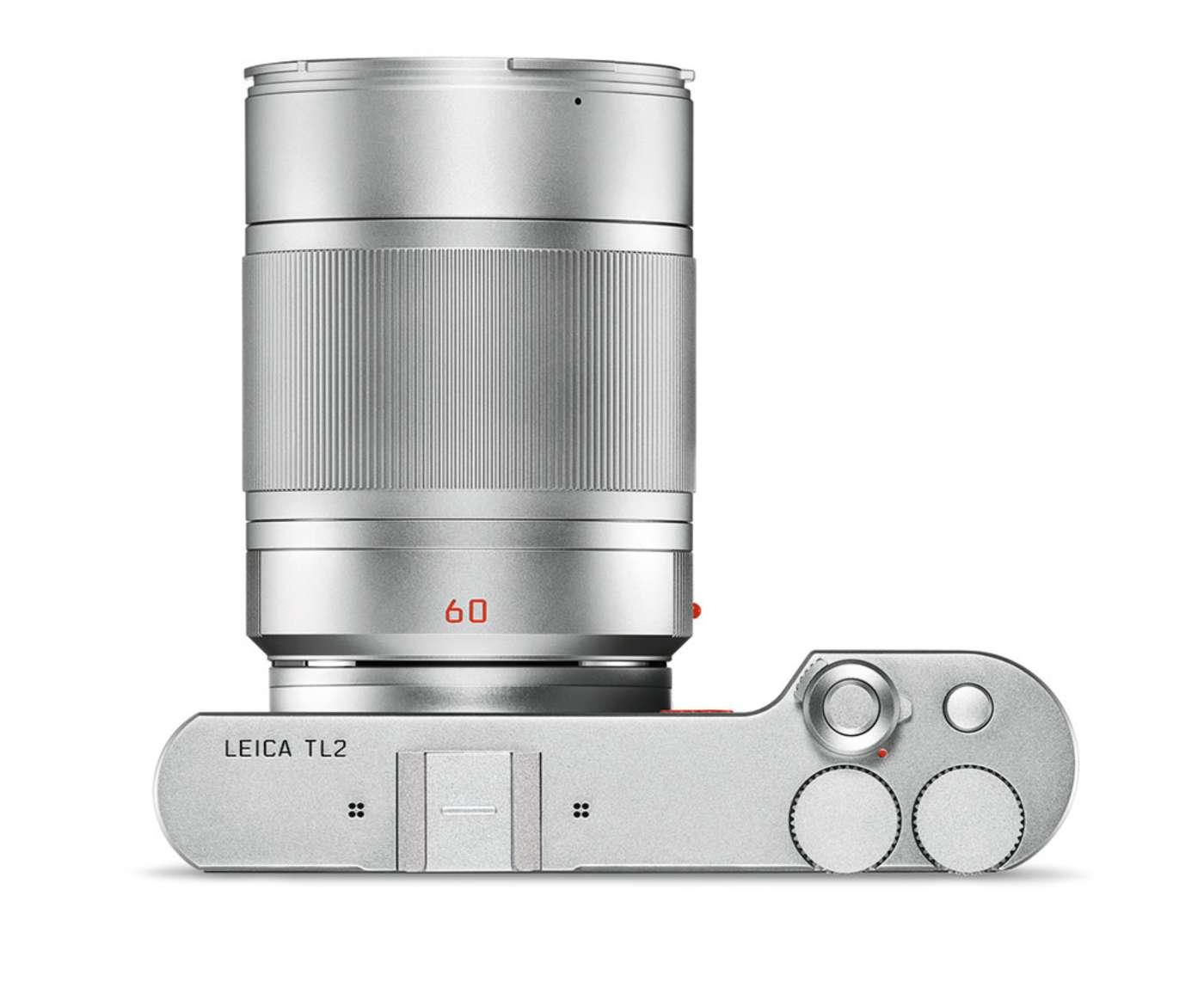 Leica TL2 С объективом 60mm Macro, вид сверху